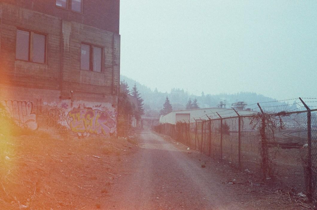 Bellingham under skies of ash.  #35mm #dia #bham