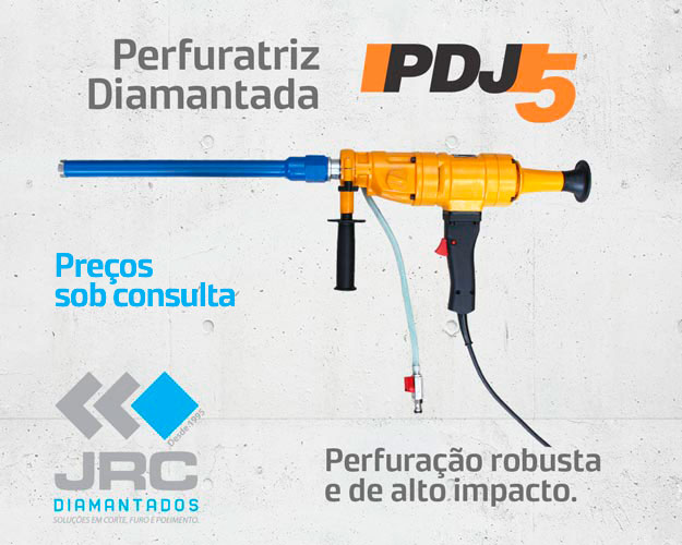 Perfuratriz Diamantada PDJ5