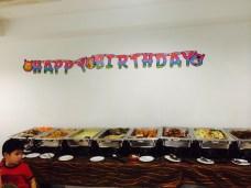 Birthday catering - Thai food