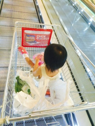 In the shopping cart
