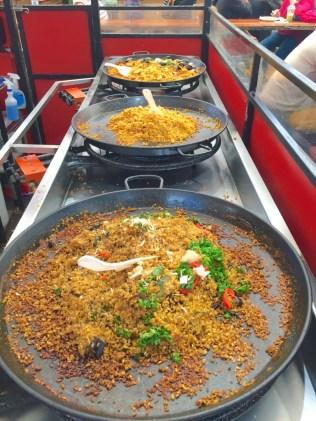 Paella in Fremantle Markets