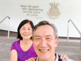 Dad and Mum at TTC