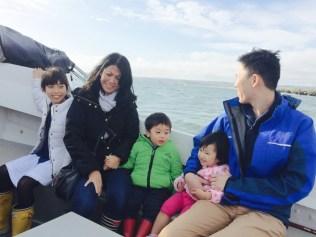 In the boat