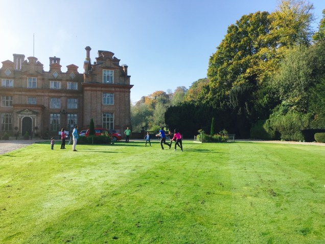 Rugby at Broome Park