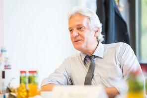 Dr. Thomas Kathöfer, Hauptgeschäftsführer AiF. Vertreter für Yvonne Karmann-Proppert
