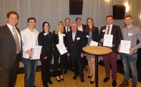 Die Gewinner-Teams des Innovationspreises der Walter-Eversheim-Stiftung [© FIR an der RWTH Aachen]