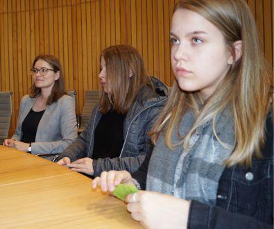 Im Sitzungszimmer einer Partei im Landtag NRW