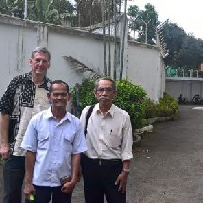 Dr. Kirchhof (FiW), Herr Usman, Herr Kuslan (beide RCWR) (Foto: Kirchhof, FiW)