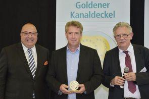 Goldener Kanaldeckel 2019 – 1. Platz: Tycho Kopperschmidt, Technische Betriebe Solingen