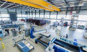 5G-Modellfabrik im Cluster Smart Logistik auf dem RWTH Aachen Campus [© FIR an der RWTH Aachen]