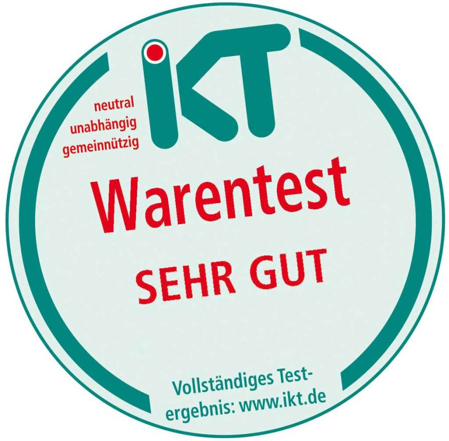 Das IKT-Warentest-Siegel