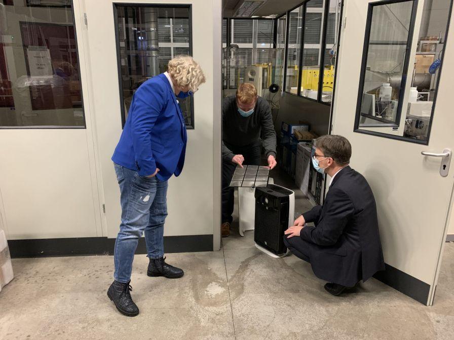 Maike Finnern, Dr. Christoph Asbach, Prof. Dr. Dieter Bathen