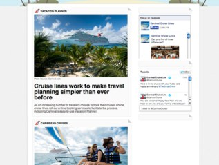 Cruise News, for Carnival Cruise Lines