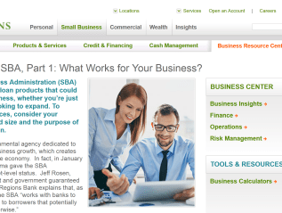 """Tapping the SBA,"" Regions Bank/Inc."