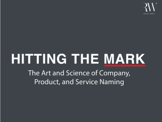 """Hitting the Mark,"" a naming eBook created with River + Wolf"