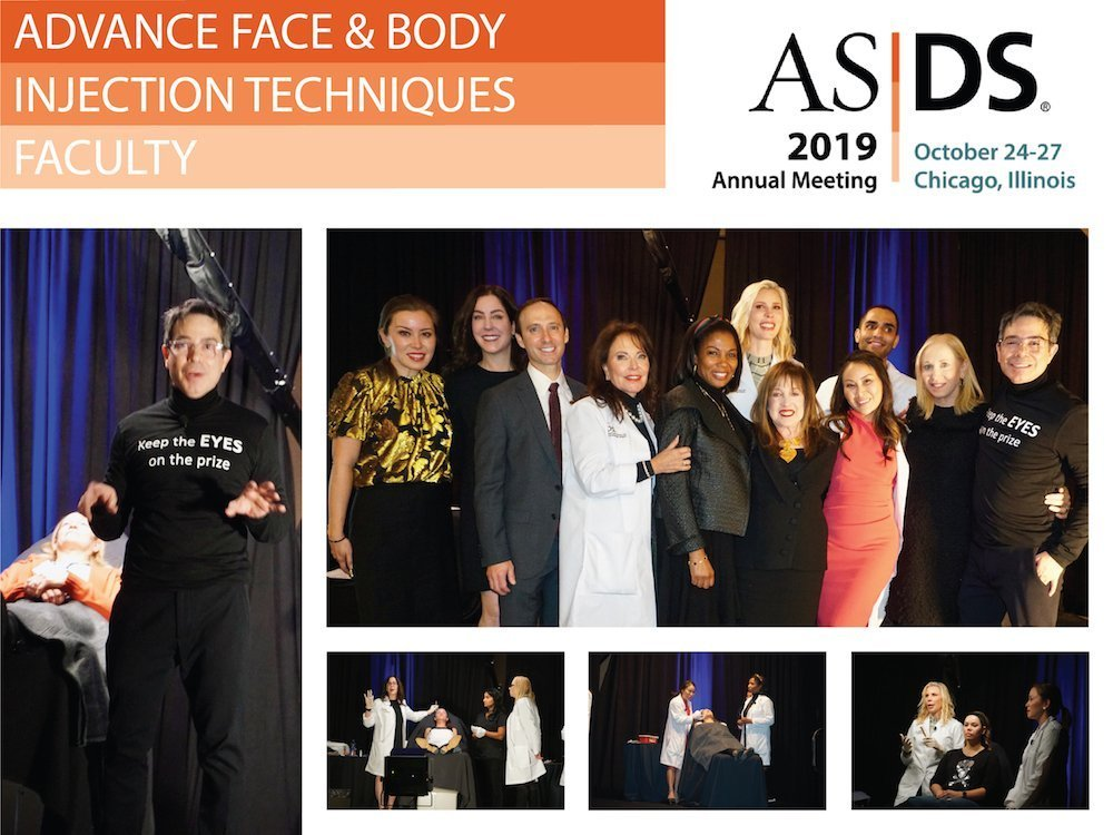 chicago asds 2019 advance face body injections techniques workshop