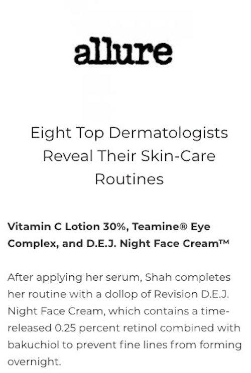 revision skincare 8 allure