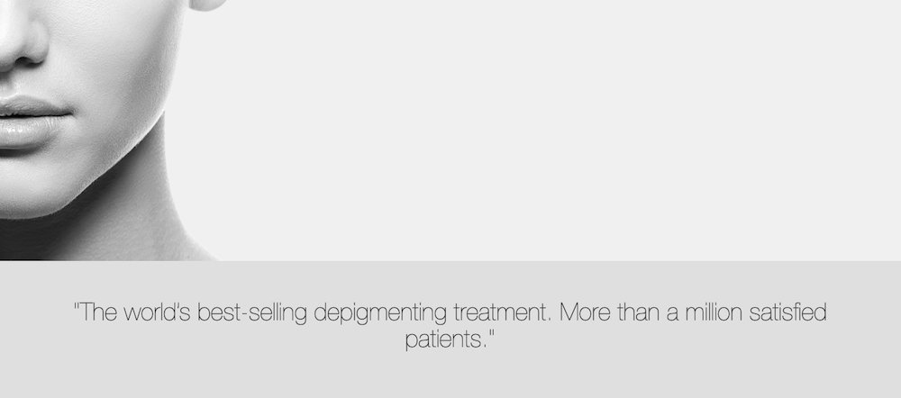 cosmelan depigmenting treatment