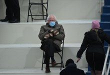 The Photographer In the encourage of the Bernie Sanders Chair Meme Tells All