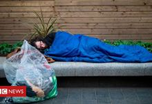 Tough sleeper numbers 'down a third in a year'