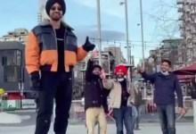 दिलजीत दोसांझ और सोनम बाजवा ने पावरी मेम को 'कूल' स्पिन दिया – देखें वीडियो