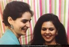 शादी के दौरान कुछ इस तरह तैयार हुईं थीं प्रियंका गांधी, शेयर की प्री वेडिंग सेरेमनी की तस्वीरें