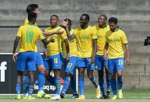 News24.com | Sundowns held by Leopards but unbeaten title march continues