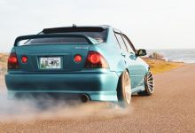 This V8-Swapped Lexus IS200 Is A Livid Mix Of Toyota, Mercedes And Opel