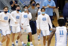 March Insanity bubble see: North Carolina takes a swing at knocking out ACC accomplice Syracuse