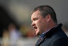 Leading horse racing trainer Gordon Elliott rapid banned from racing in Britain over 'horrendous and horrific' image of him sat on a ineffective horse