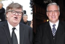 Michael Moore & Keith Olbermann Call For Texas To Plod Un-Vaccinated After Governor Reopens Screech '100%'