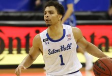 Seton Hall's Bryce Aiken boasts he 'ain't by no method lacking' a free throw, promptly misses two