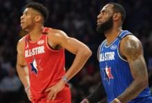 LeBron takes Giannis first in draft; Jazz stars closing