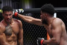 UFC 259 video: Kennedy Nzechukwu survives early barrage, demolishes Carlos Ulberg with brutal correct hook