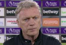 West Ham 2-0 Leeds: David Moyes says Hammers 'didn't play successfully'