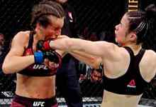 Seek the 2020 Wrestle of the Year between Zhang Weili and Joanna Jedrzejczyk