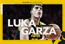 Iowa's Luka Garza is Sporting Info' first repeat winner as Participant of the Year since Michael Jordan