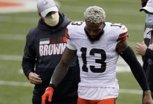 Browns' Odell Beckham Jr. Posts Treadmill Exercise Video Amid ACL Damage Rehab