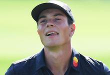 Hovland self-reports two-shot penalty