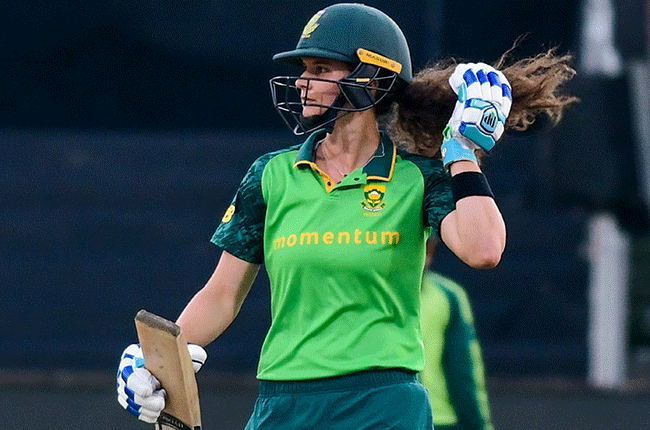 News24.com | Majestic Wolvaardt, Lee stand sees Proteas down India in 1st ODI