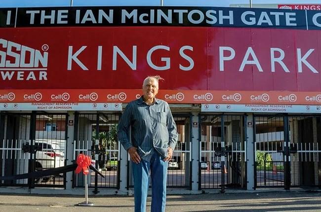 News24.com | Kings Park entry gate named in honour of legendary coach Ian McIntosh