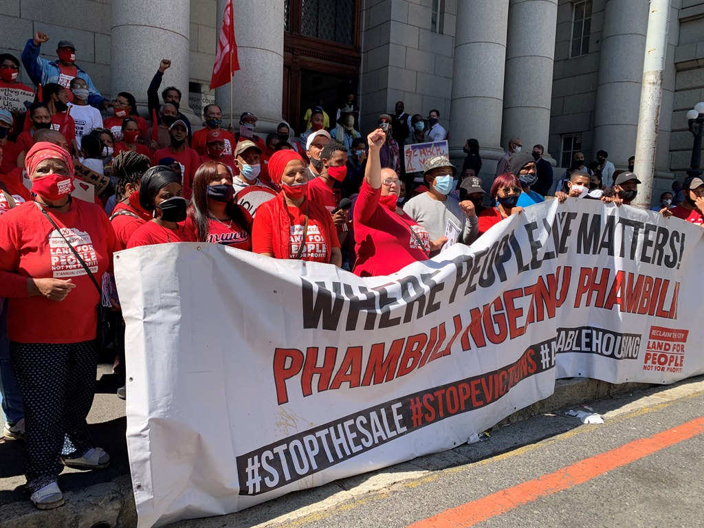 News24.com   Woodstock Hospital occupiers: 'City of Cape Town trying to get a court order about us, without us'