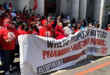 News24.com | Woodstock Hospital occupiers: 'City of Cape Town trying to get a court order about us, without us'