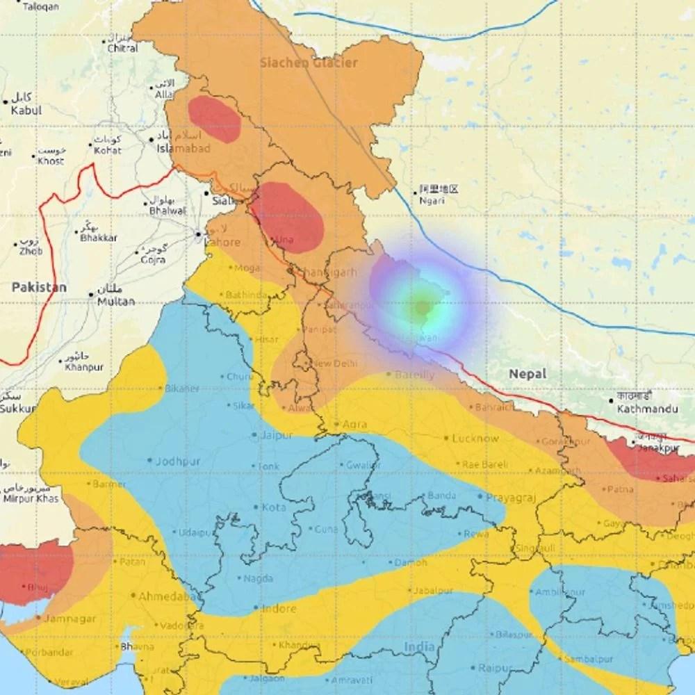 उत्तराखंड में कांपी धरती:पिथौरागढ़ में भूकंप के झटके महसूस किए गए, रिक्टर स्केल पर तीव्रता 4 मापी गई