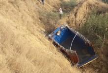 यूपी के इटावा में बड़ा हादसा: श्रद्धालुओं से भरा ट्रक 25 फीट गहरी खाई में गिरा, 11 लोगों की मौत;  शराब के नशे में ट्रक चालक था