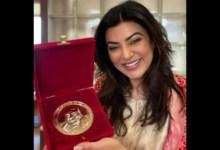 सुष्मिता सेन ने बदले पुरस्कारों की विजेता चैंपियनशिप पर आभार व्यक्त किया, देखें पोस्ट