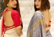 Monalisa and Puja Banerjee put the 'sexy' in their sarees with these backless pics