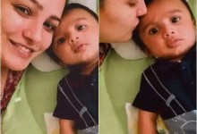 Anita Hassanandani shares an awwdorable moment with son Aaravv that will surely melt your heart