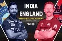 ENG 137/2 (16.3), India vs England 1st ODI Live Cricket Score Online: प्रसिद्ध कृष्णा ने जेसन रॉय को किया आउट, बेन स्टोक्स भी आउट