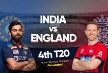 ENG – 130/3 (14.3), India vs England 4th T20 LIVE क्रिकेट स्कोर: बेन स्टोक्स कर रहे ताबड़तोड़ बल्लेबाजी, विकेट की तलाश में भारत